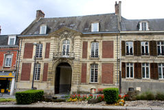 Saint-Quentin, France. Old building in Saint-Quentin, France Stock Image