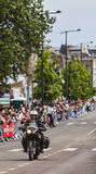 Bici oficial durante Tour de France del Le Foto de archivo libre de regalías