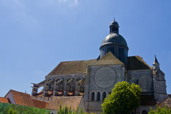 Saint-Quiriace church - Provins Stock Photography