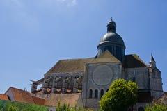 Saint-Quiriace church - Provins Stock Photography