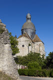 Saint Quiriace collegiate church, Provins Stock Photo