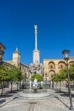 Saint Raphael Triumph statue in Cordoba, Spain. Royalty Free Stock Photography