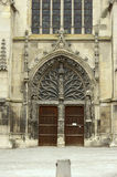 Saint Remi Basilica in Reims Stock Image