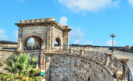Saint Remy bastion under a blue sky Royalty Free Stock Images