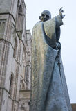Saint Richard Statue, Chichester stock photos