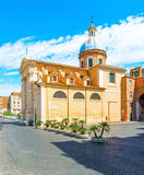Saint Rocco church in Rome. Royalty Free Stock Photo