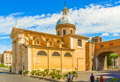 Saint Rocco church in Rome. Stock Photo