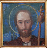 Saint Roch Royalty Free Stock Photography