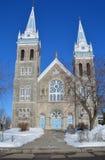 Saint-Romuald church Stock Photo