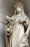 Saint Rosa de Lima imagem de stock royalty free