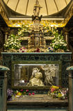 Saint Rosalia tomb Stock Images