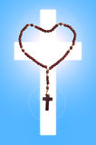 Saint Rosary Stock Photo