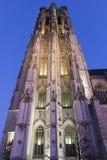 Saint Rumbold's Cathedral in Mechelen in Belgium Stock Photo