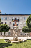 Saint Rupert statue at Salzburg, Austria Royalty Free Stock Photography