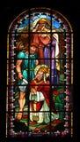 Saint Rustique, Saint Eleutherius and Saint Denis Stock Photos