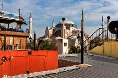 Saint Sófia de um telhado imagem de stock