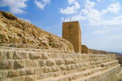 Saint Sabba Monastery (Mar Saba), Palestine Stock Photo