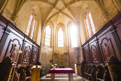 Saint Sacerdos cathedral, Sarlat, france Stock Photography