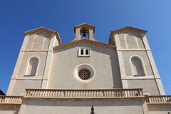 Saint Salvador church in Arta Stock Images
