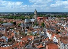 Saint Salvator Cathedral in Bruges, Belgium Stock Images