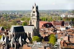 Saint Salvator Cathedral - Bruges - Belgium Stock Photo