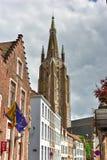 Saint Salvator Cathedral - Bruges, Belgium Stock Image