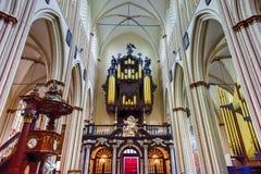 Saint Salvator Cathedral - Bruges, Belgium Stock Photo