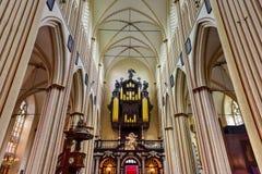 Saint Salvator Cathedral - Bruges, Belgium Stock Images