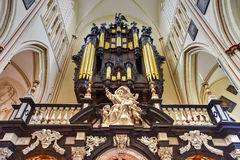 Saint Salvator Cathedral - Bruges, Belgium Royalty Free Stock Images