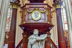 Saint Salvator Cathedral - Bruges, Belgium Stock Photography