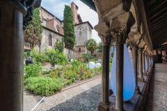 Saint Salvi Cloister in Albi, France Stock Image
