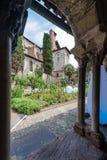 Saint Salvi Cloister in Albi, France Stock Photos