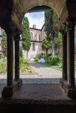 Saint Salvi Cloister in Albi, France Stock Images