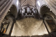 Albi, France. The Saint-Salvi Collegiate Church in Albi, France. A World Heritage Site since 2010 Stock Photo