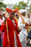 Saint Sant Tukaram Palkhi festival Royalty Free Stock Images