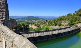Saint Saturnin-les-Apt water reservoir Royalty Free Stock Photos