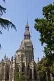 Saint Sauveur Basilica Stock Image