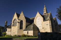 Saint-Sauveur Church Royalty Free Stock Photography