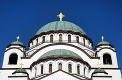 Saint Sava Church, Belgrad, Serbie photos libres de droits