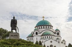 Saint sava ortodox church in Belgrade Stock Image