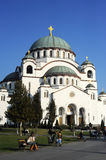 Saint Sava Temple Royalty Free Stock Photos