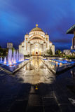 Saint Sava Temple Photographie stock