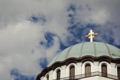 Saint Sava Temple in Belgrade - Destination Backgrounds Royalty Free Stock Photos