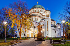 Saint Sava Temple Stock Photography