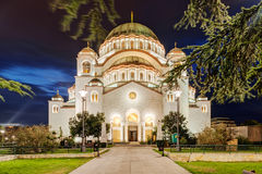 Saint Sava Temple Royalty Free Stock Photography