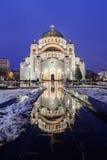 Saint Sava Temple Royalty Free Stock Images
