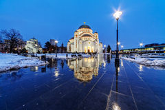 Saint Sava Temple Stock Images