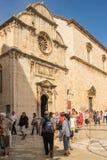 Saint Saviour Church. Dubrovnik. Croatia Stock Images