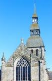 Saint Saviours Basilica, Dinan, France Stock Photography