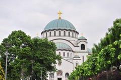 Saint Savva Church, Trinity Chapel, Belgrade Stock Photo